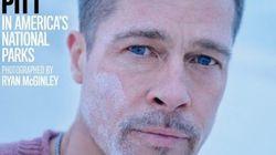 Torse nu, les larmes aux yeux, Brad Pitt se confie sur ses
