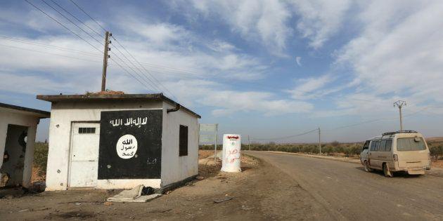 Checkpoint de l'Etat islamique dans le Nord de la