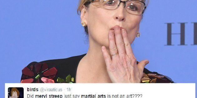 Meryl Streep aux Golden Globes