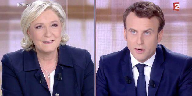 Trop occupée à taper sur Macron, Le Pen en oublie de parler de son