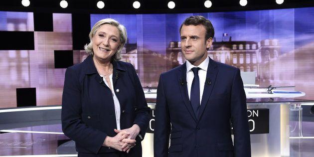 Face aux mensonges de Le Pen, Macron s'est imposé comme le candidat de la raison et de l'ouverture au