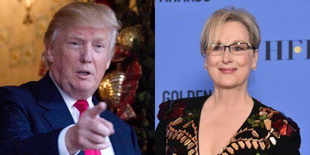 Donald Trump réagit au discours de Meryl Streep aux Golden Globes