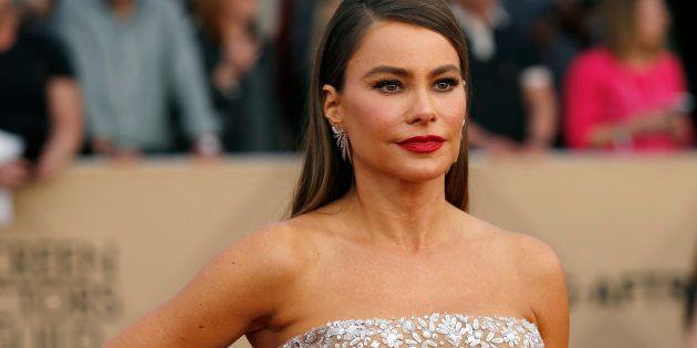 Sofia Vergara aux Screen Actors Guild Awards à Los Angeles, le 29 janvier
