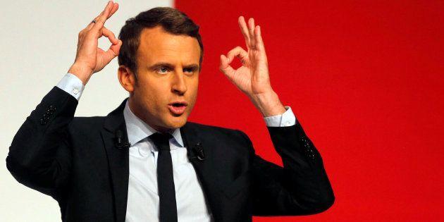Emmanuel Macron termine sa campagne à