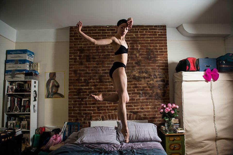 Ces photos vous dévoilent l'intimité des danseuses de New