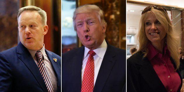 Qui sont Kellyane Conway et Sean Spicer, membres du staff de Donald Trump qui vont vivre l'enfer pendant...