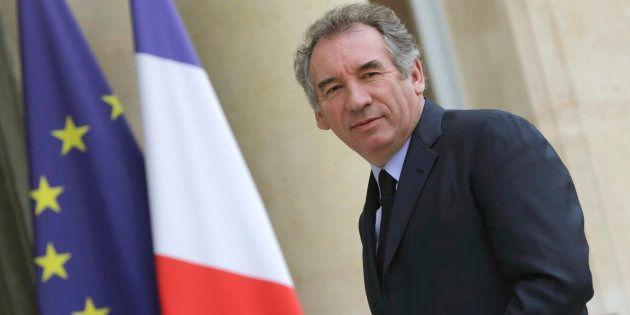 François Bayrou, leader du parti centriste