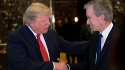 Donald Trump a rencontré Bernard Arnault à New