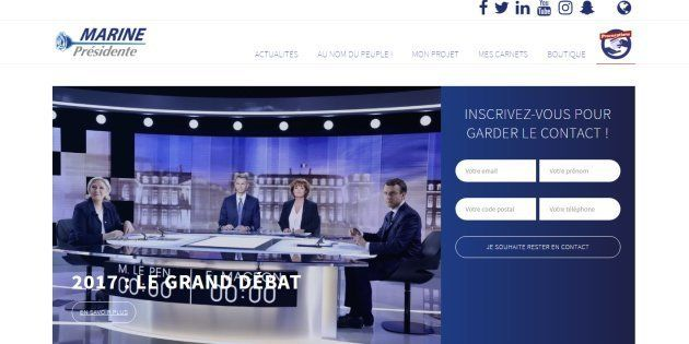 Le site de Marine Le Pen ciblé par des cyberattaques, affirme le Front