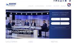 Le site de Marine Le Pen ciblé par des cyberattaques, affirme le