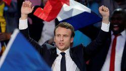 Macron a trouvé le lieu pour faire la fête s'il gagne