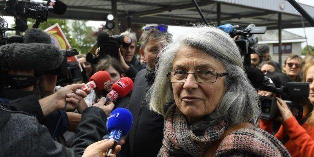 Catherine Blein à Dol-de-Bretagne le 4 mai