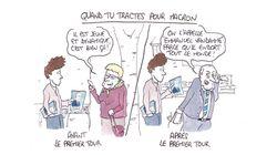 BLOG - Infiltré en BD dans les équipes présidentielles: j'ai tracté pour Macron et je n'ai pas reçu le même