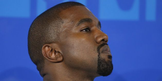 Le rappeur Kanye West aux MTV Video Music Awards à New York, le 28 août