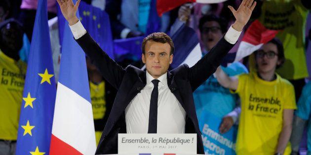 Emmanuel Macron bat Marine Le Pen et devient le 8e président de la Ve