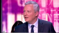 Bruno Le Maire se dit prêt à travailler avec Macron, Baroin le