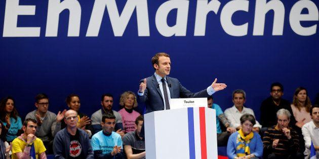 La République en Marche! sera l'étiquette des candidats macronistes aux