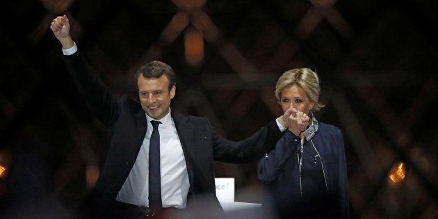 Emmanuel Macron élu plus jeune président de France: seuls trois chefs d'Etat dans le monde font