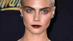 Cara Delevingne magnifique le crâne rasé aux MTV Movie & TV