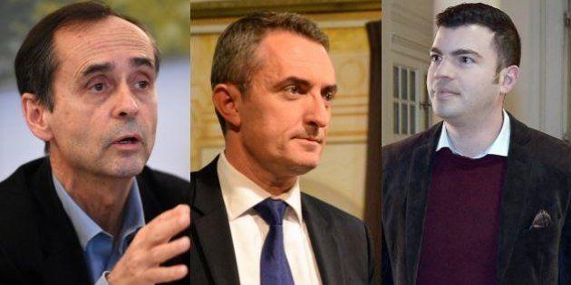 RobertMénard, Stéphane Ravier et FabienEngelmann, maires de Béziers, du 7e secteur de Marseille et