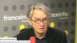 Jean-Claude Mailly demande aux permanents FO de ne pas partir trop loin cet