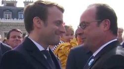 La présence de Valls et Placé en arrière plan provoque un concours de