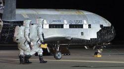 Le vaisseau spatial top-secret de l'armée américaine a enfin atterri, mais est toujours aussi