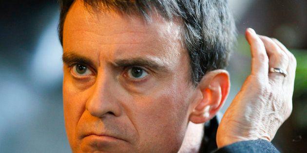 Manuel Valls à Villeurbanne au mois de