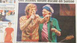 Cette Une associant les Rolling Stones à un