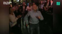 La danse survoltée de Jean-Michel Aulas vaut le