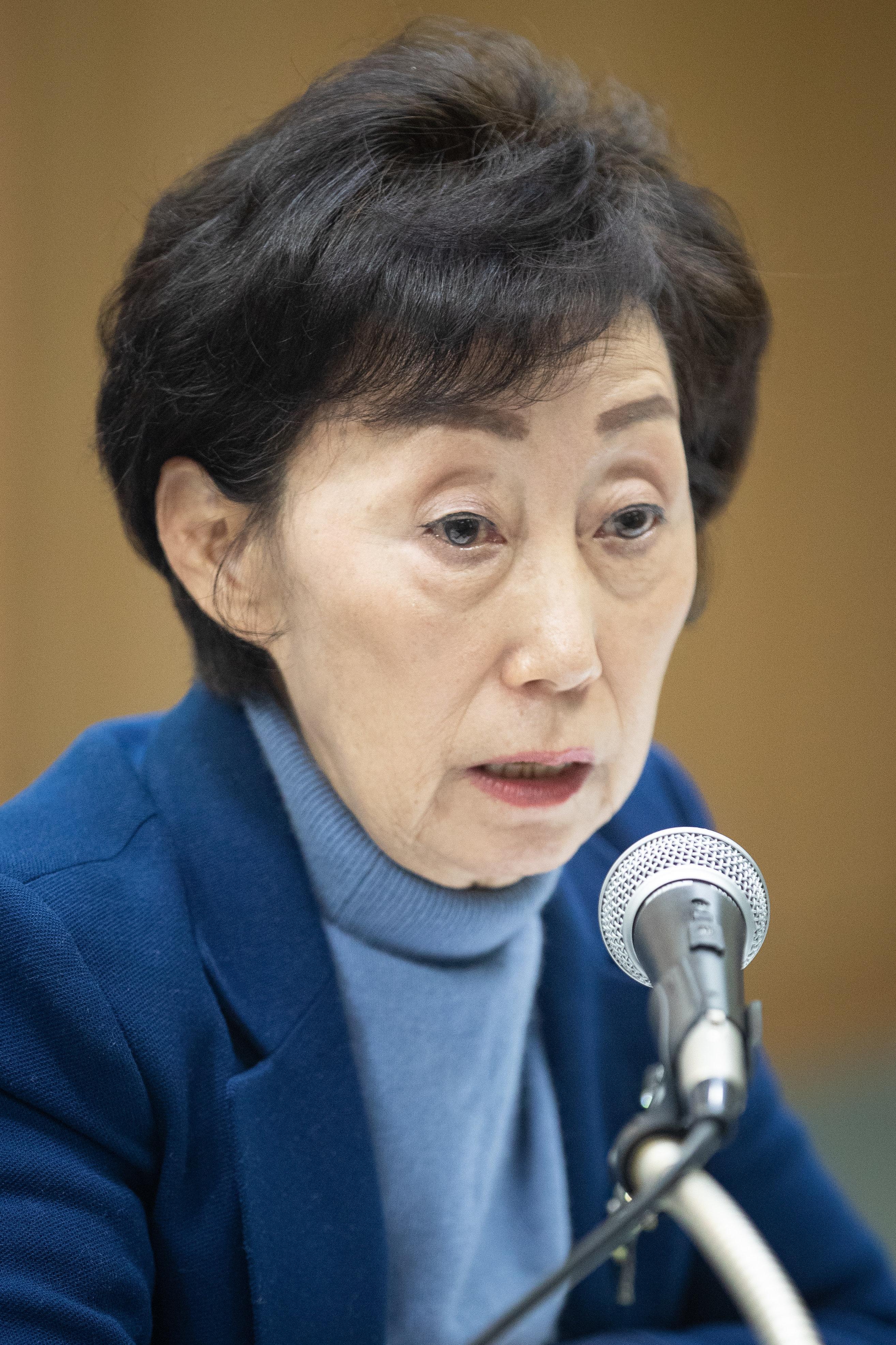최영애 인권위원장이