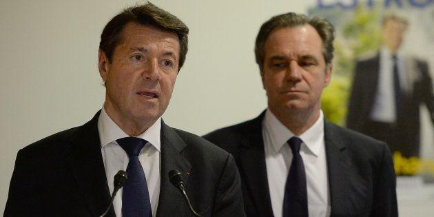 Christian Estrosi et Renaud Muselier en décembre 2015 à