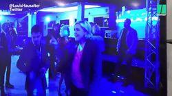 Il fait danser Marine Le Pen sur toutes les musiques