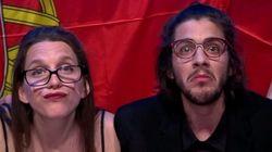 À l'Eurovision, le candidat portugais et sa sœur se sont fait