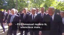 Le badinage entre Macron et Hollande avant la commémoration de l'abolition de