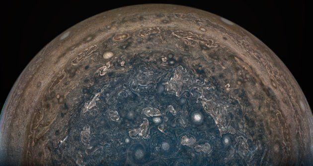 À la surface de Jupiter, des cyclones aussi gros que la