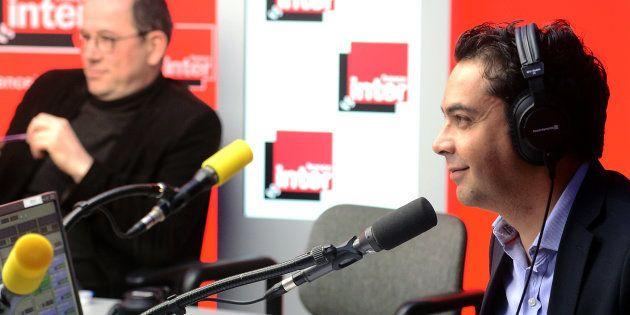 Patrick Cohen à l'antenne de France