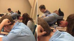 La sieste de ces étudiants en plein partiel va donner des idées à