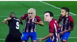 Benzema trolle Deschamps, Giroud et Valls après son dribble de folie en Ligue des
