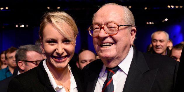 A défaut de garder Marion Maréchal Le Pen dans les rangs du parti, Jean-Marie Le Pen est quand même très...