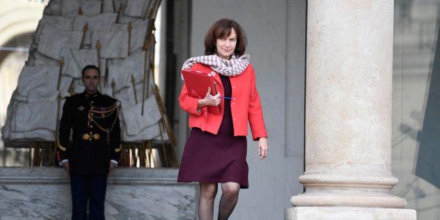 Laurence Rossignol à l'Elysée à Paris le 1er février