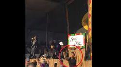 À ce concert de Snoop Dogg, on a plus envie de regarder l'interprète en langue des signes que le