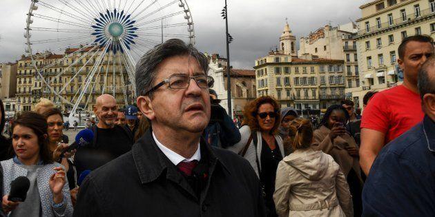 Jean-Luc Mélenchon à Marseille le 11 mai