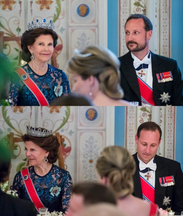 La bonne vanne du Prince Haakon pendant le dîner d'anniversaire de ses