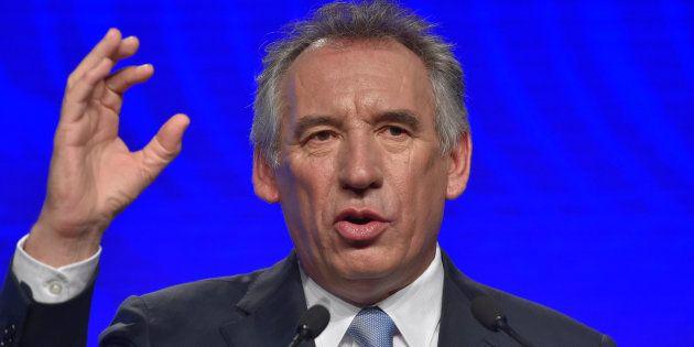 François Bayrou n'est pas content de la liste des candidats d'En