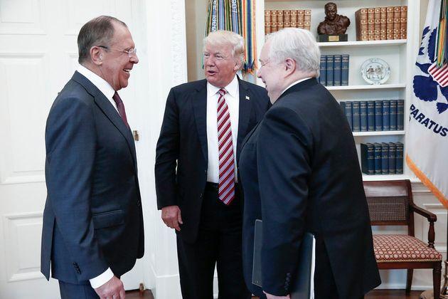 Donald Trump rencontre Sergueï Lavrov discrètement, et Moscou dévoile les