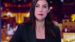 Cette journaliste apprend la fermeture de sa chaîne en plein