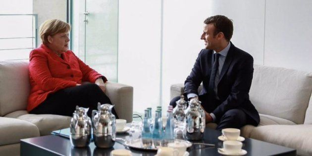 Emmanuel Macron rencontrera Angela Merkel