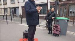 Jean-Christophe Cambadélis en campagne sur une palette vaut le