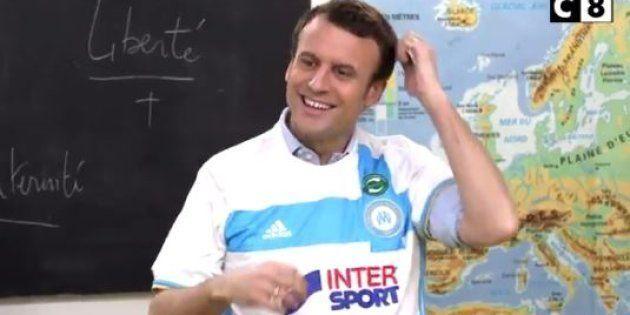 Macron Explique Aux Enfants Ce Que Signifie Létoile Sur Le